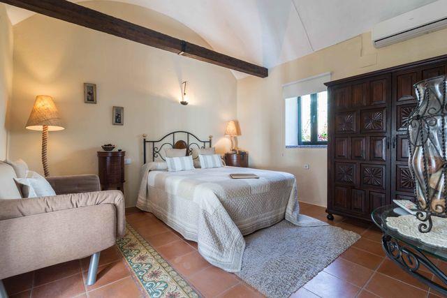 Hacienda el Santiscal Arcos de la Frontera slaapkamer