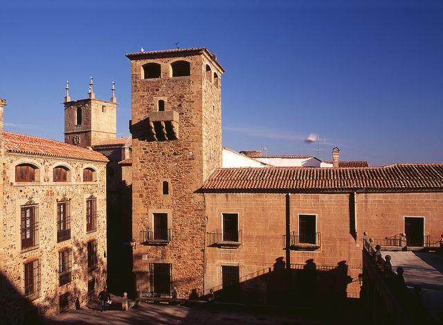 Palacio de los Golfines de Abajo Cáceres Spanje