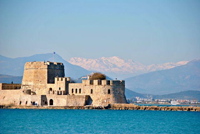 Fort Nafplio Peloponnesos Griekenland