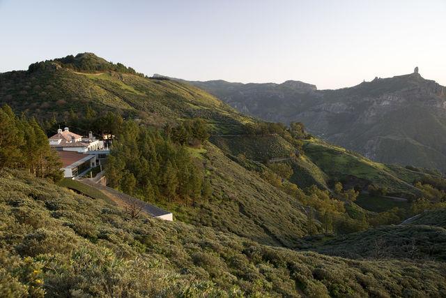 Parador de Cruz de Tejeda Gran Canaria ligging