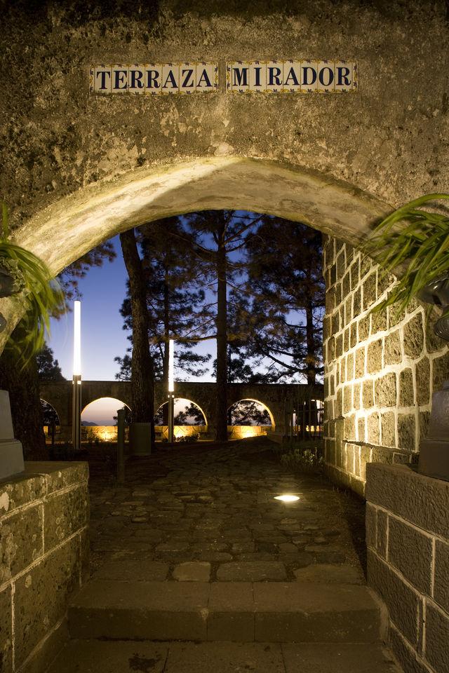 Parador de Cruz de Tejeda Gran Canaria poort