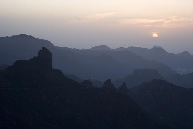Parador de Cruz de Tejeda Gran Canaria uitzicht