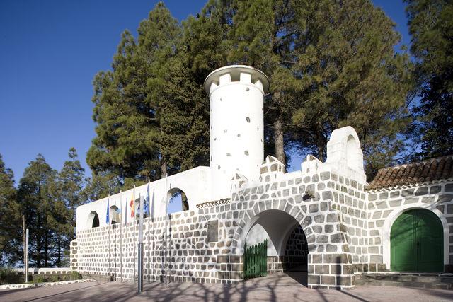 Parador de Cruz de Tejeda Gran Canaria ingang