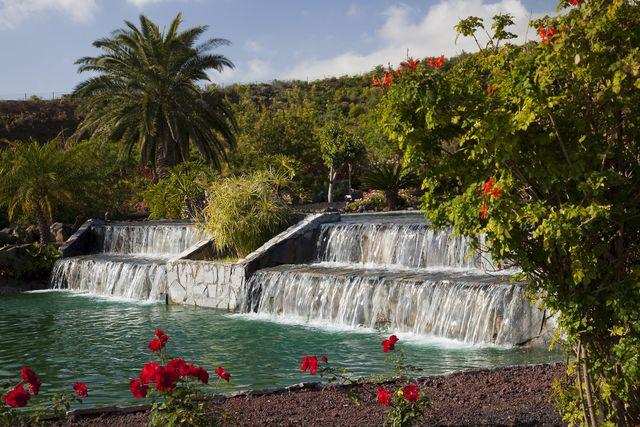 Parador de la Palma waterval