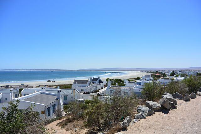 Rondreis Zuid-Afrika Paternoster witte huisjes