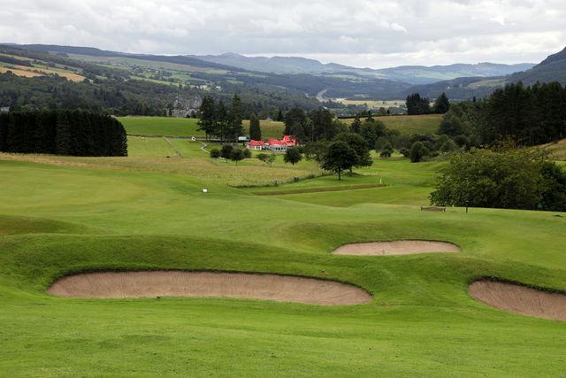 Golfbaan Pitlochry Schotland