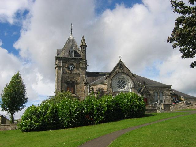 Kerk Pitlochry Schotland