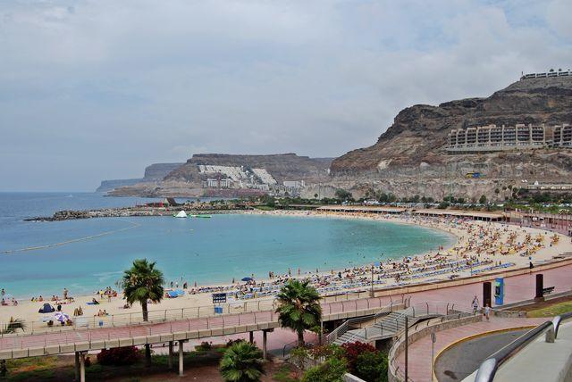Strand Playa de los Amadores Canarische Eilanden La Palma