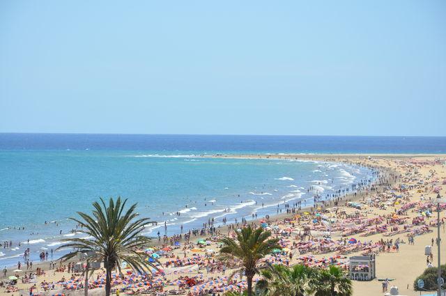 Strand Playa del Ingles Canarische Eilanden La Palma