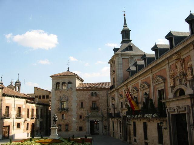 De las Letras Madrid gevel