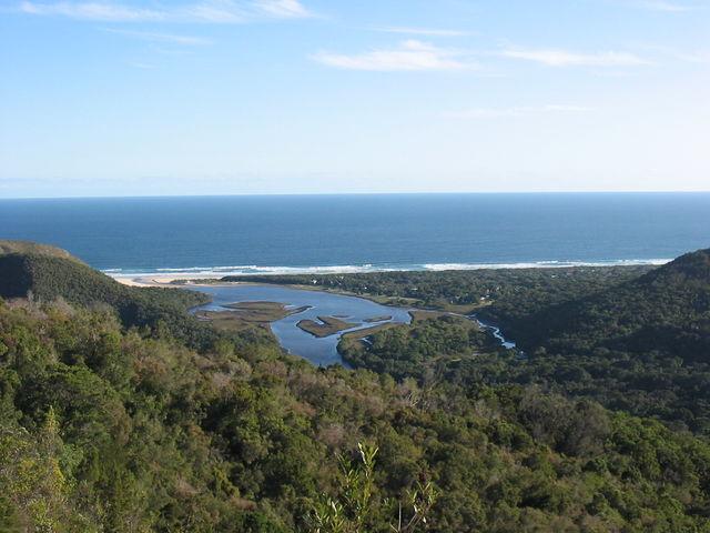 rondreis Zuid-Afrika Tuinroute Plettenberg landschap