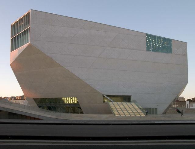 Casa da Musica Rem Koolhaas Porto Portugal