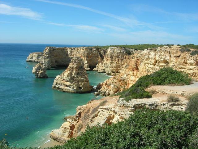 Portugal Algarve Praia da Marinha