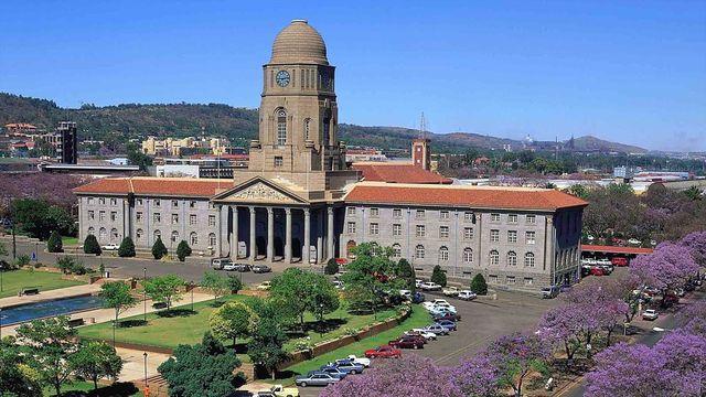 rondreis zuid-afrika Pretoria parlement gebouw