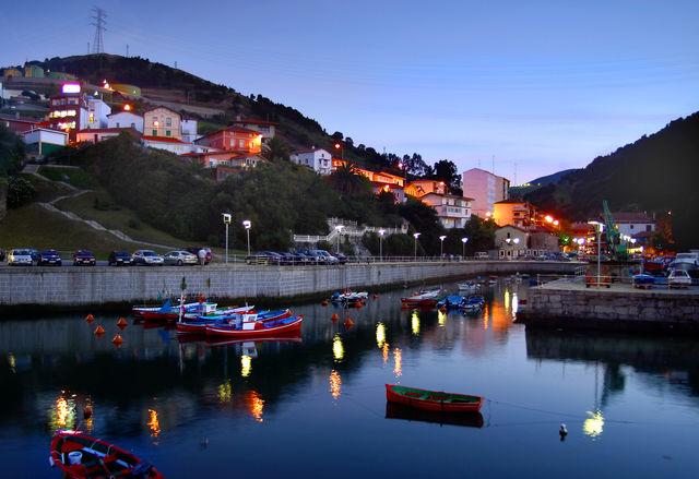Bilbao haven Puerta de Zierbena Spanje