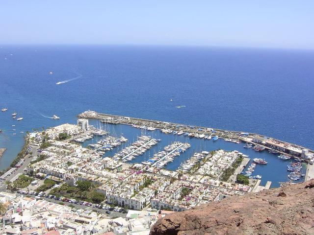 Haven Puerto Deportivo Mogan Canarische Eilanden La Palma
