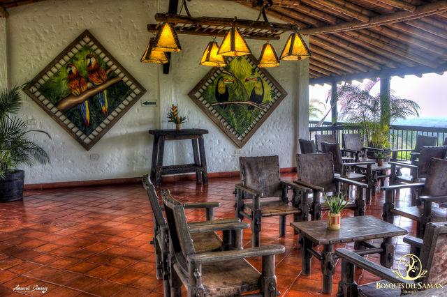 Rondreis Colombia Risaralda Filandia Bosques del Saman zithoek in het Casa Rustica