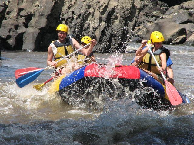 Rondreis Colombia Santander San Gil outdoor rafting
