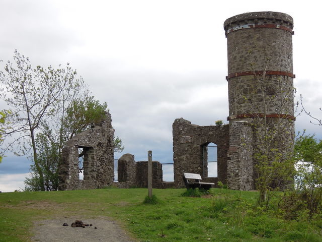 Fort ruïnes Perth Schotland