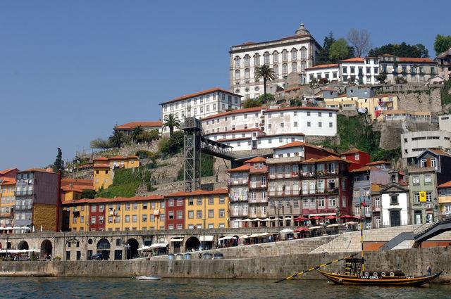 Portugal Porto Dom Luis brug Ribeira