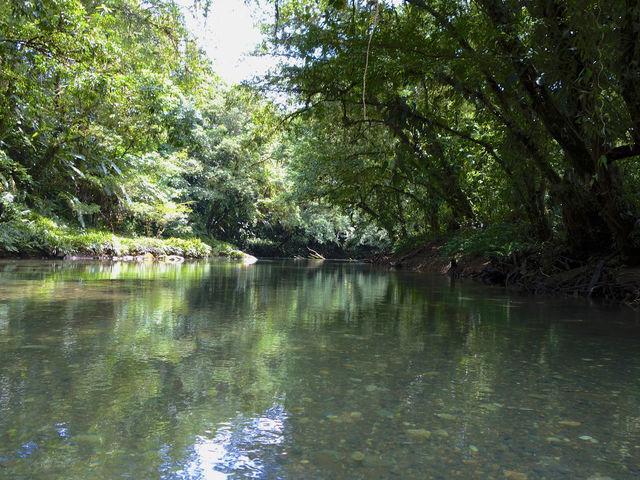Rondreis Colombia Choco Nuqui El Cantil Ecolodge de jobi rivier op