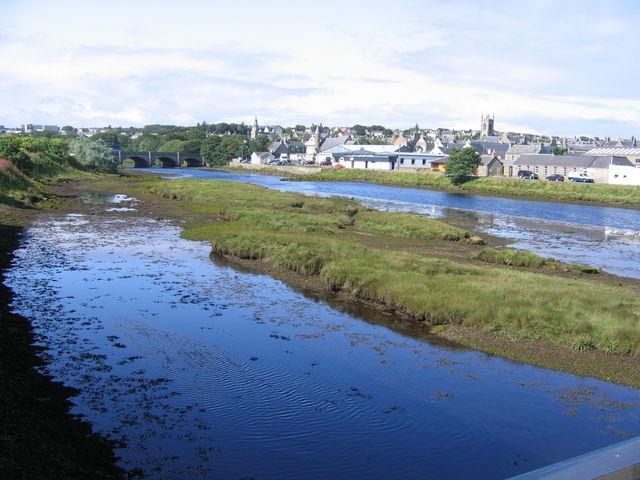 Thurso rivier Schotland
