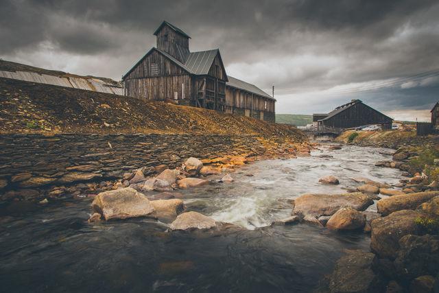 Røros Trøndelag Noorwegen