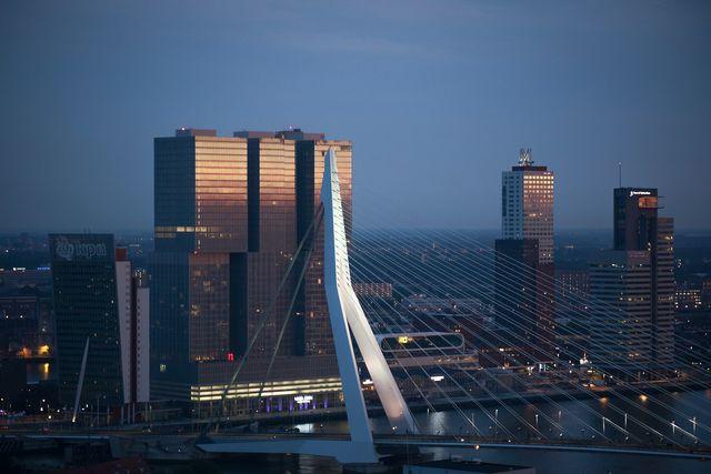 Erasmusbrug Rotterdam Zuid-Holland Nederland