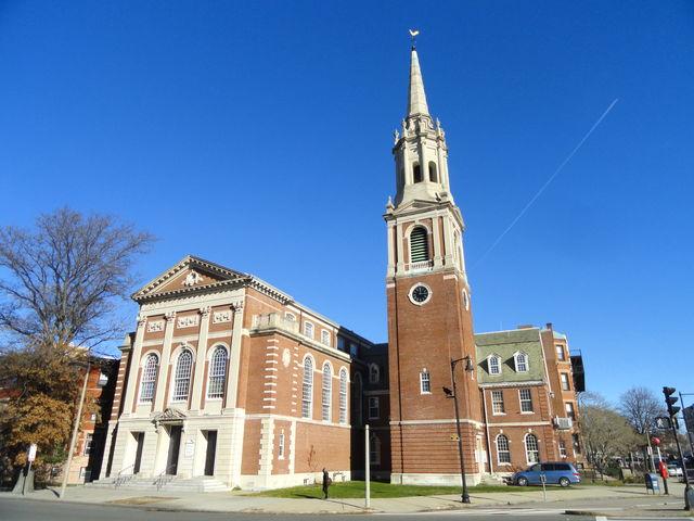 Kerk Ruggles Baptist Boston Massachussets