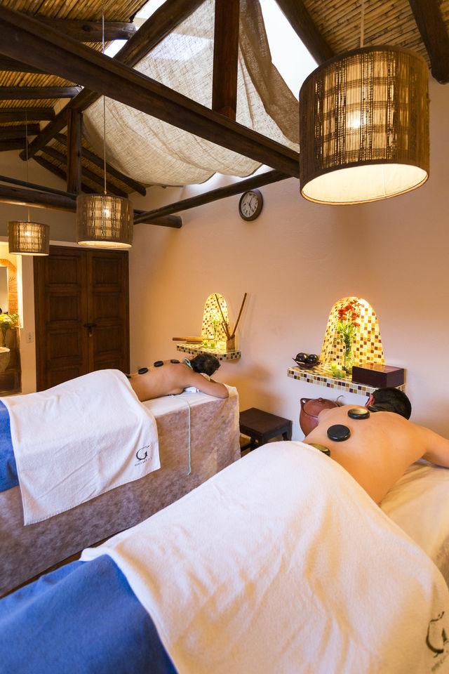 Rondreis Colombia Ricaurte Villa de Leyva Getsemani massage ruimte