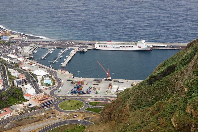 Haven Santa Cruz Canarische Eilanden Tenerife
