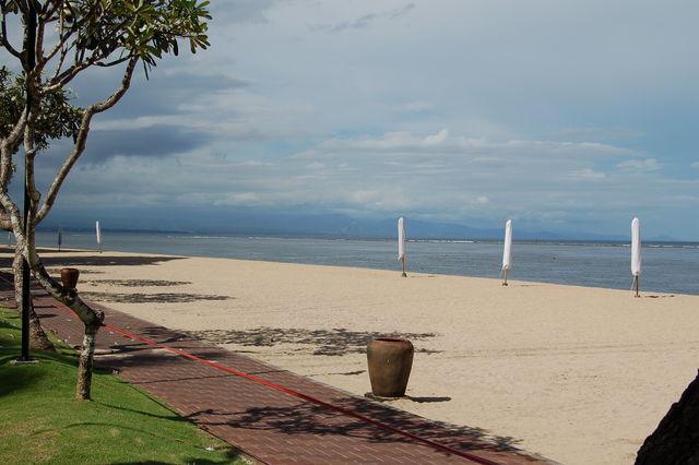 Sanur Bali strand Indonesië