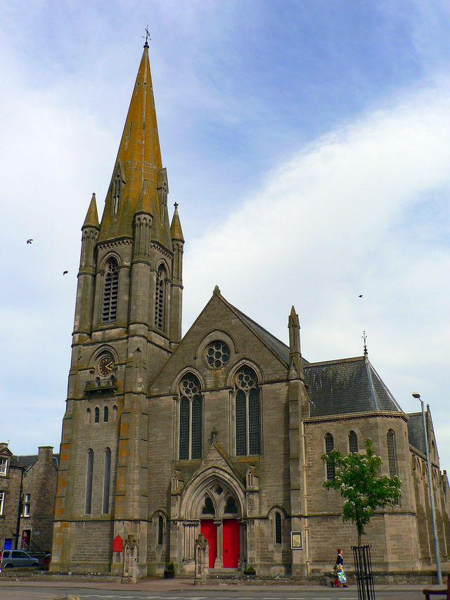 Kerk Nairn Schotland