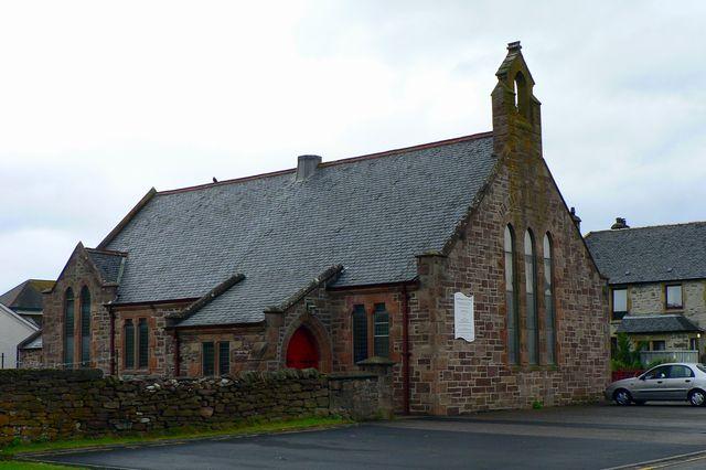 Kerk Ullapool Schotland