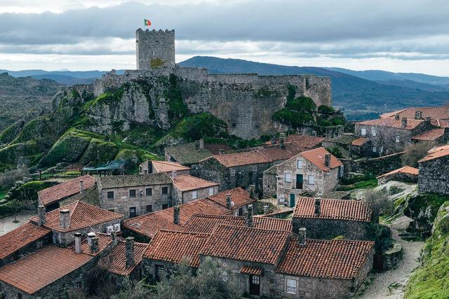 Castelo de Sortelha Beiras Portugal