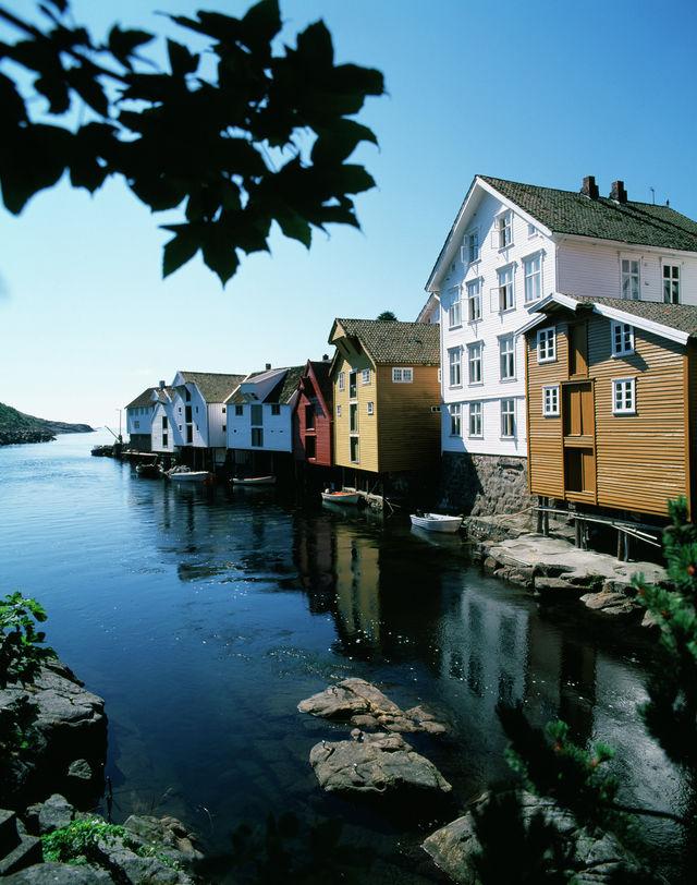 Sogdalstrand Noorwegen Rogaland