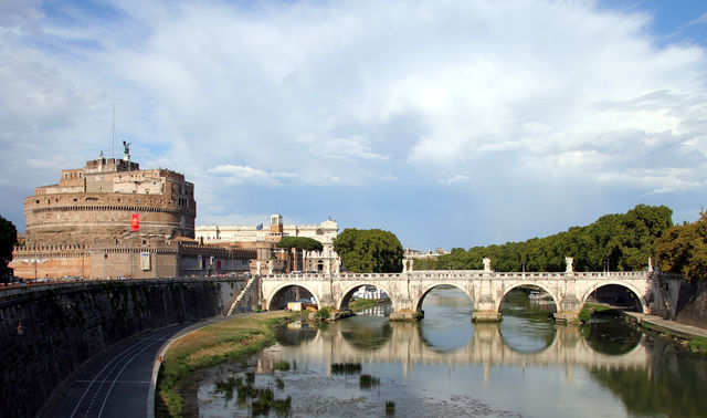 Brug St. Angelo Rome
