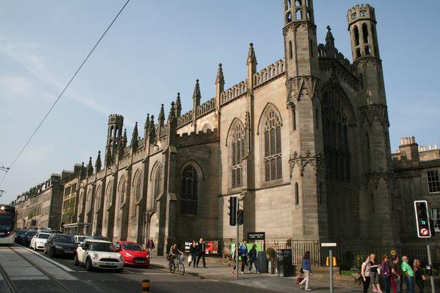 kerk St Pauls Georges church Edinburgh