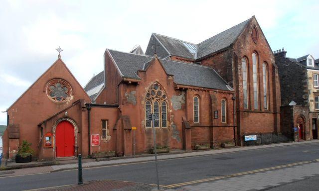 Kathedraal Saint Johns Oban Schotland