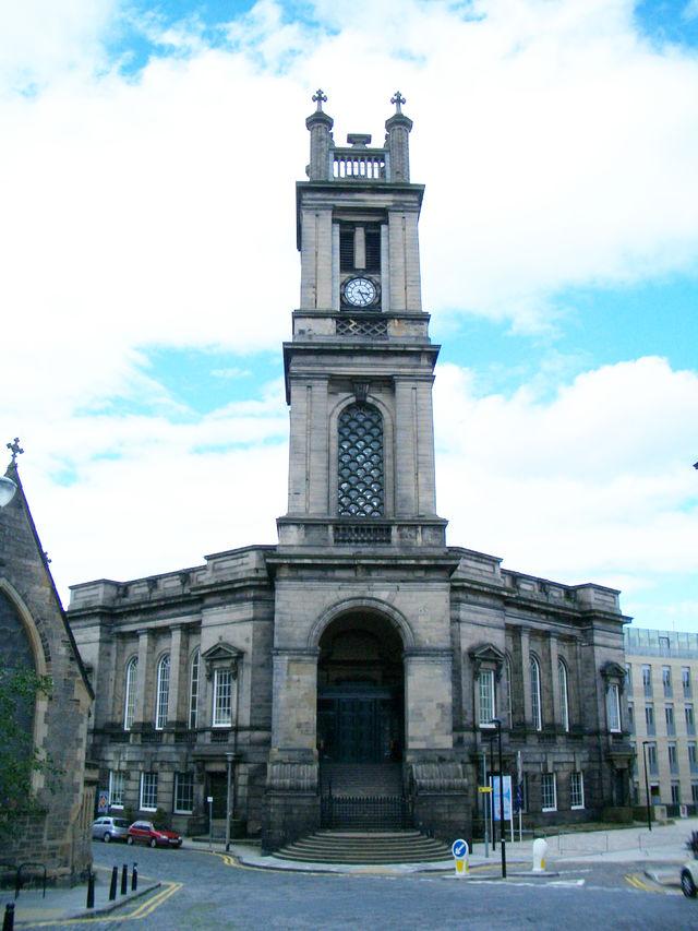 Kerk St. Stephens Edinburgh Schotland