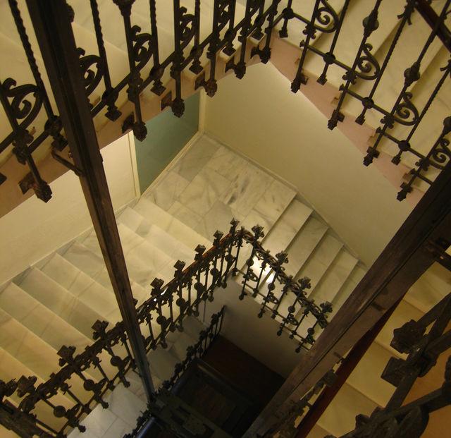 De las Letras Madrid trappenhuis