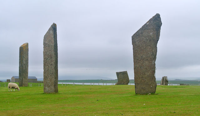Standing Stones of Stenness Schotland