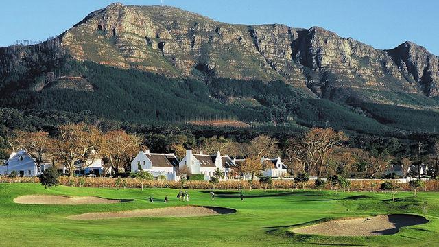 Rondreis Zuid-Afrika Steenberg hotel goldbaan