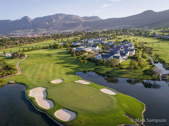 Rondreis Zuid-Afrika Steenberg hotel golfbaan