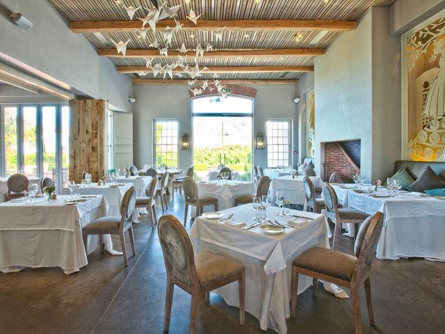 Rondreis Zuid-Afrika Steenberg hotel Trys restaurant