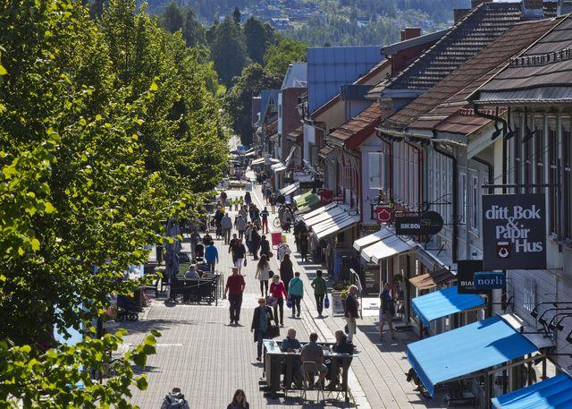 Storgata Lillehammer Oppland Noorwegen