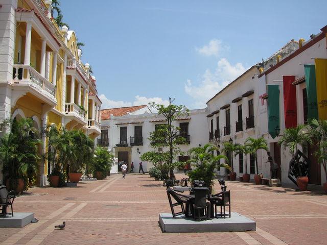Rondreis Colombia Cartagena straatbeeld algemeen