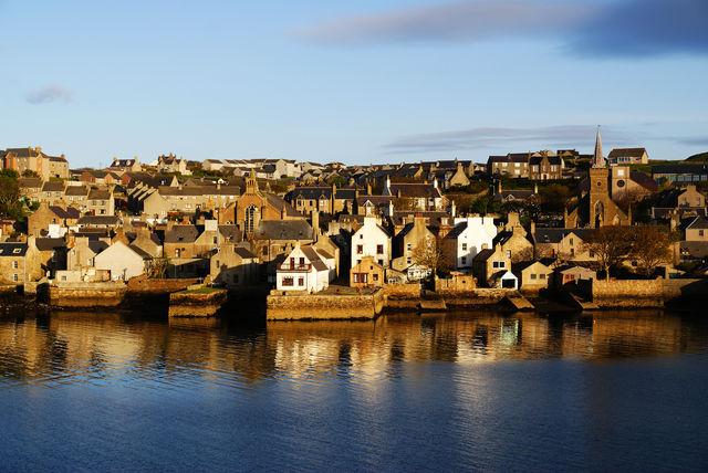Orkney stad Schotland