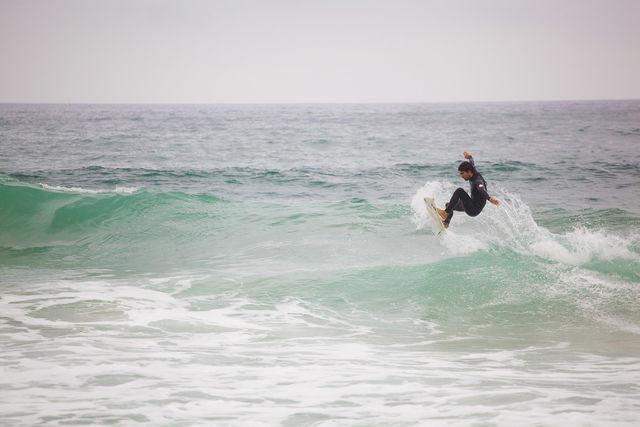 San Sebastian Donostia Surfen