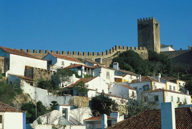Portugal Obidos historisch kasteel